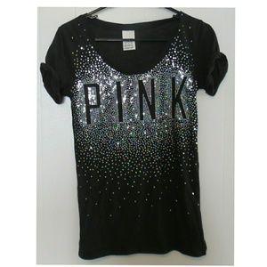 XS Pink Sequin t-shirt